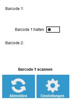 Suche Barcodes